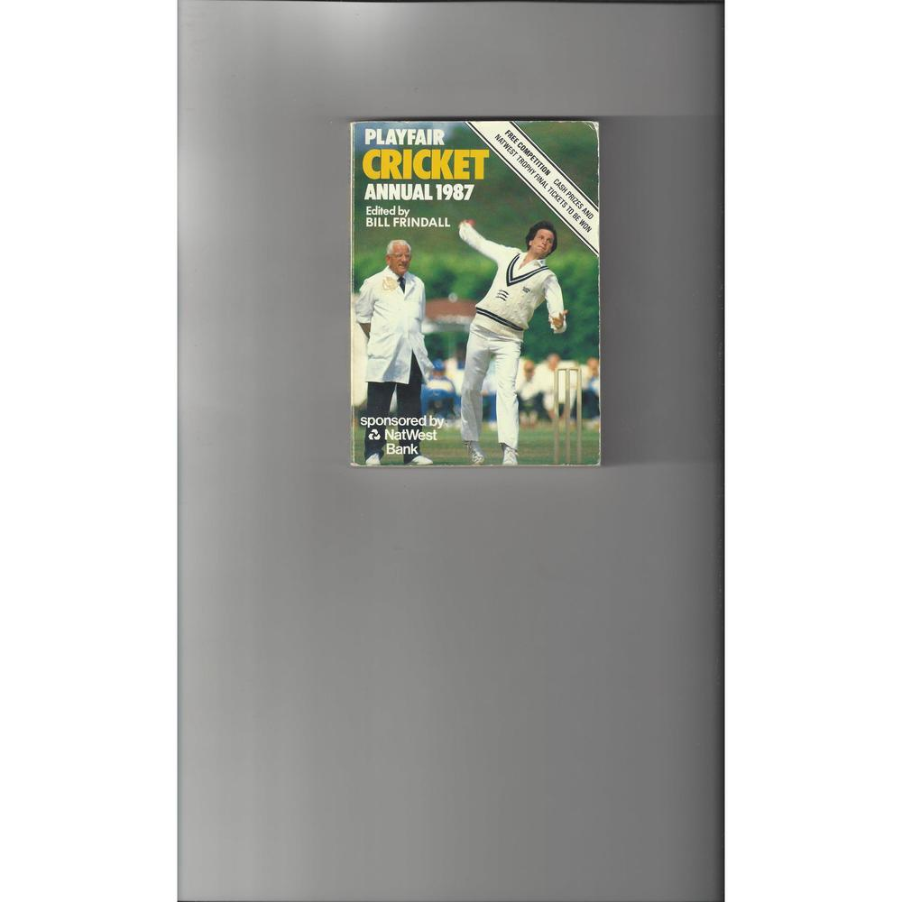 Playfair Cricket Annual 1987