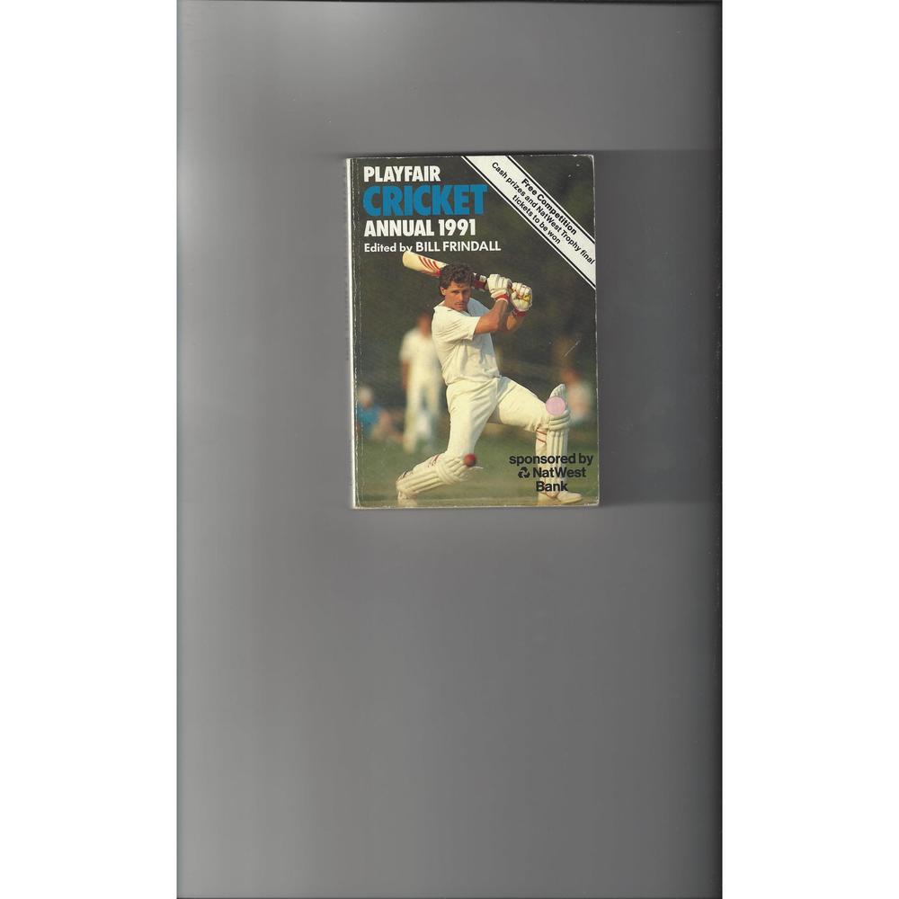 Playfair Cricket Annual 1991