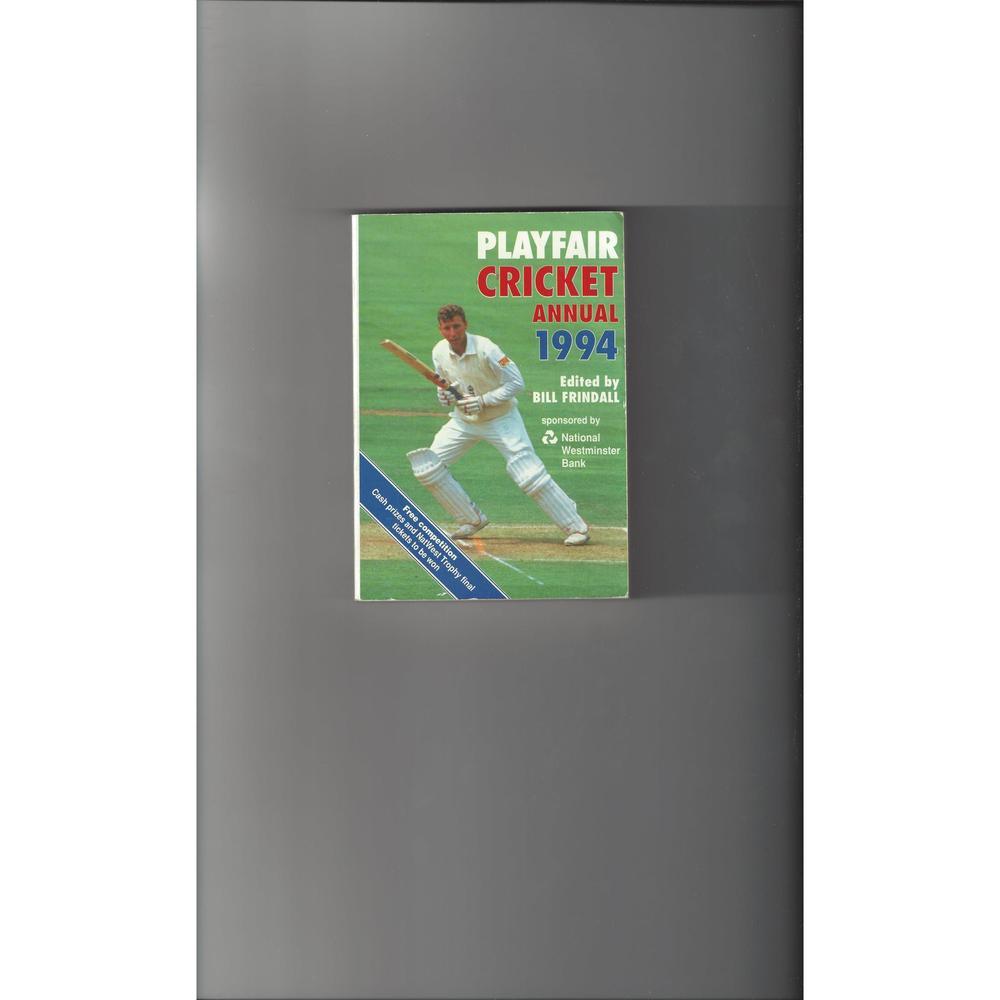 Playfair Cricket Annual 1994