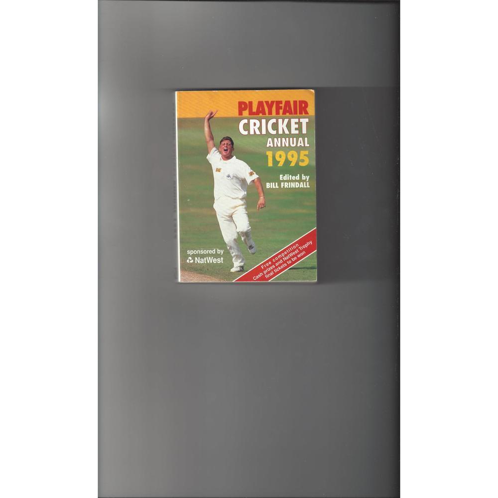 Playfair Cricket Annual 1995