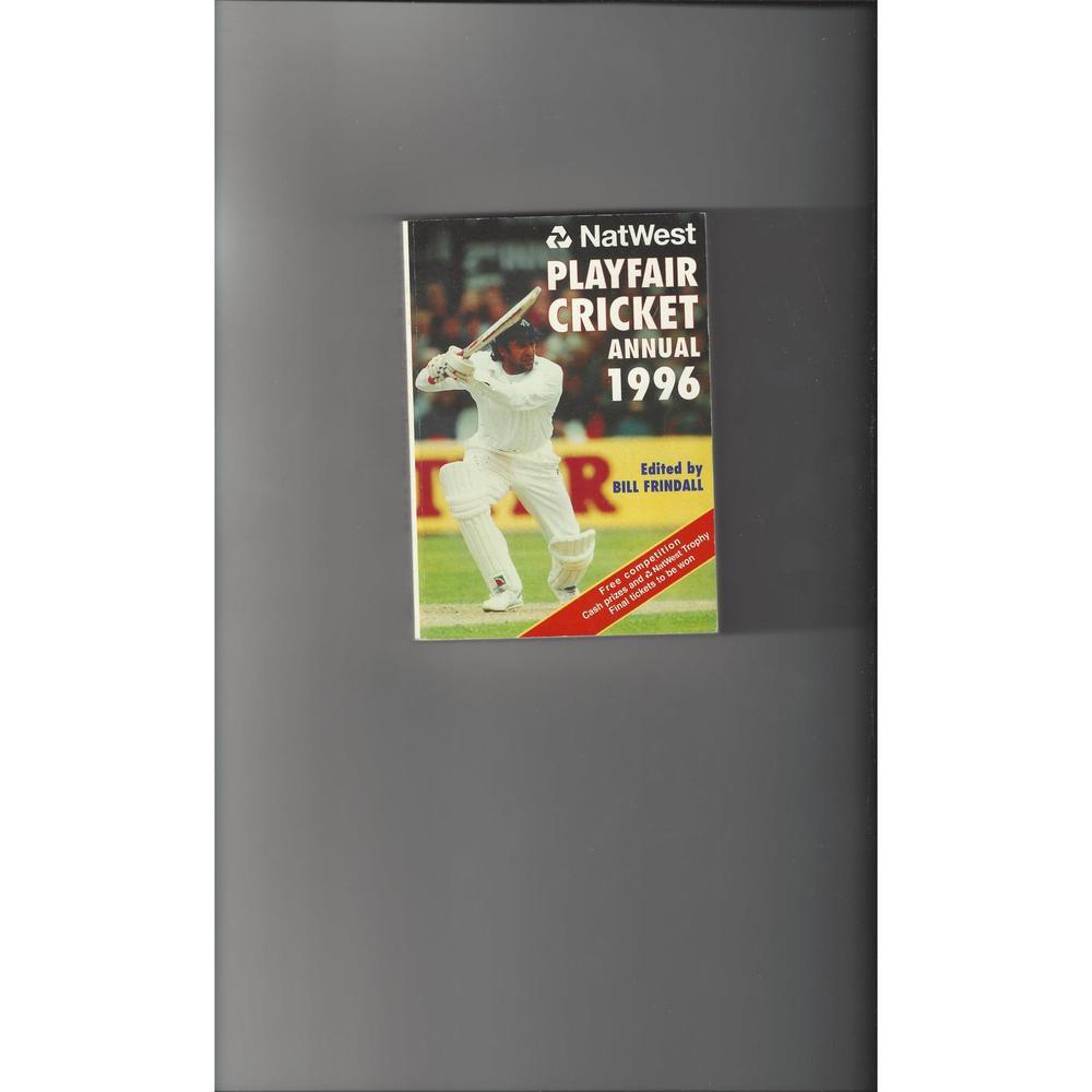 Playfair Cricket Annual 1996