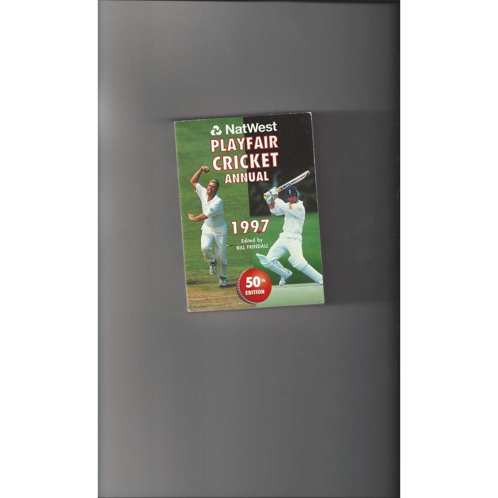 Playfair Cricket Annual 1997