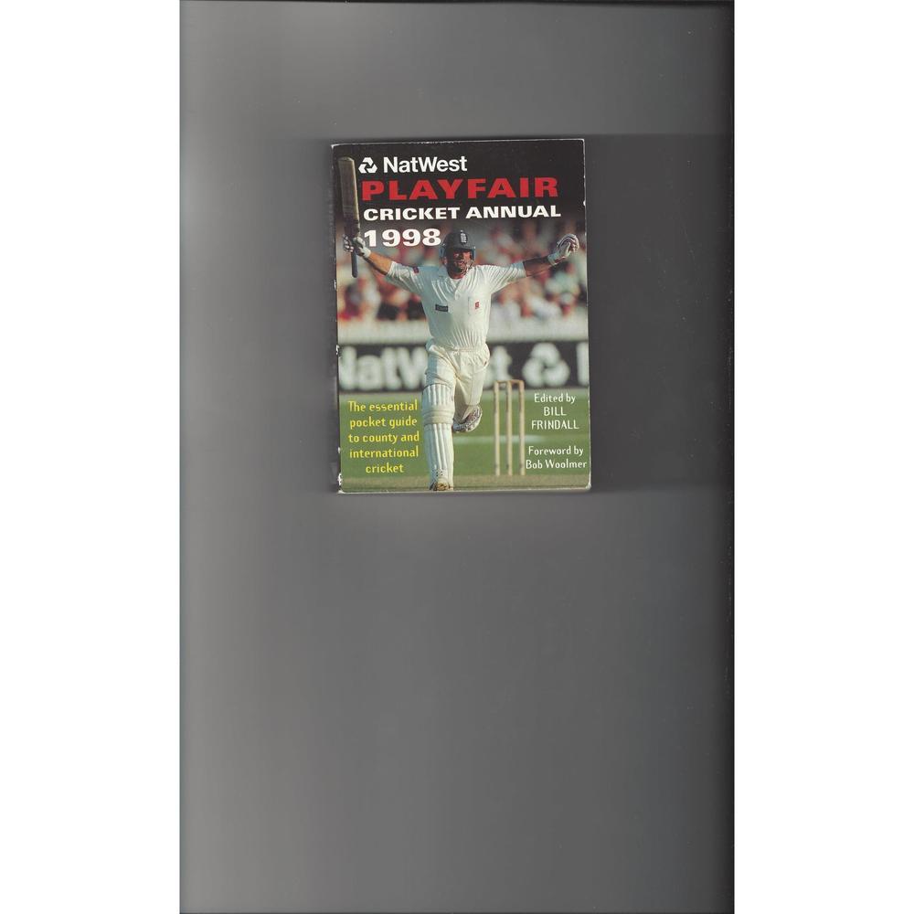 Playfair Cricket Annual 1998