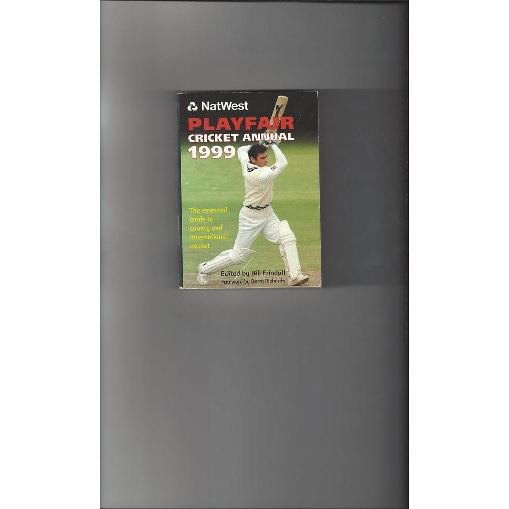 Playfair Cricket Annual 1999