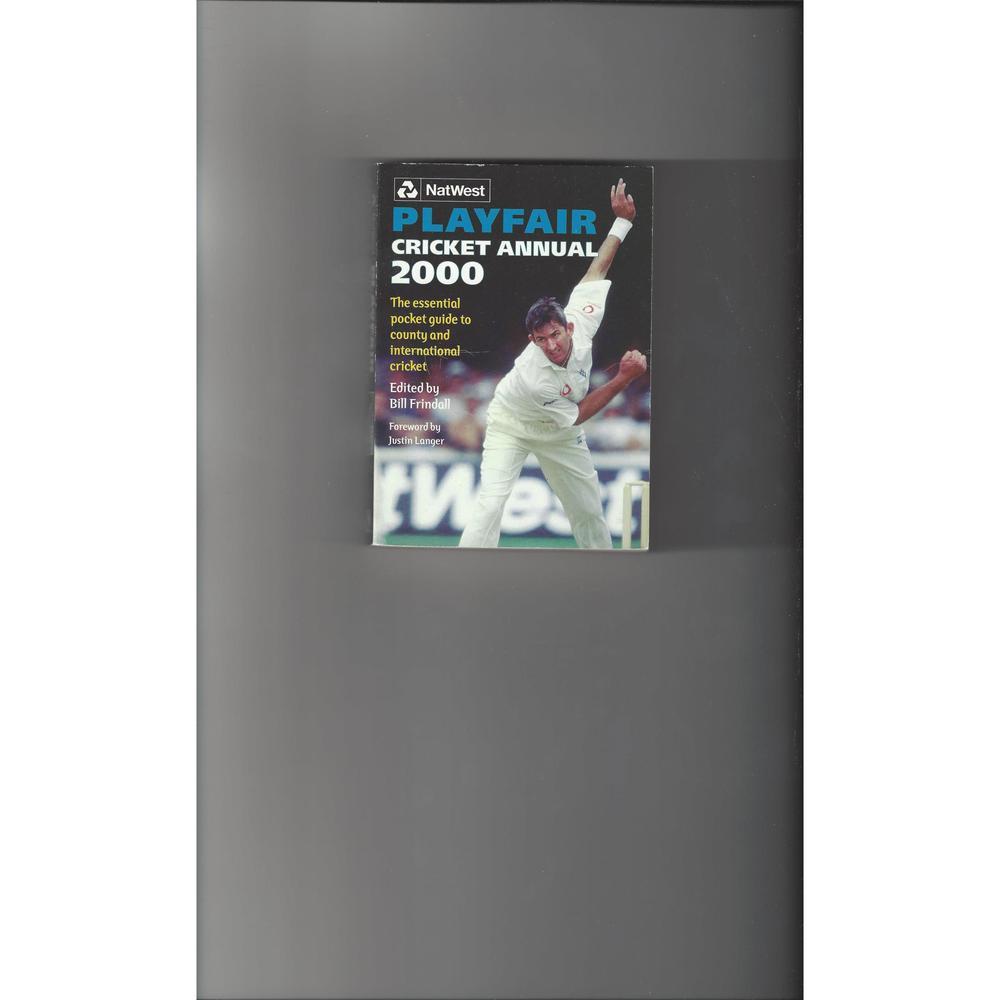 Playfair Cricket Annual 2000