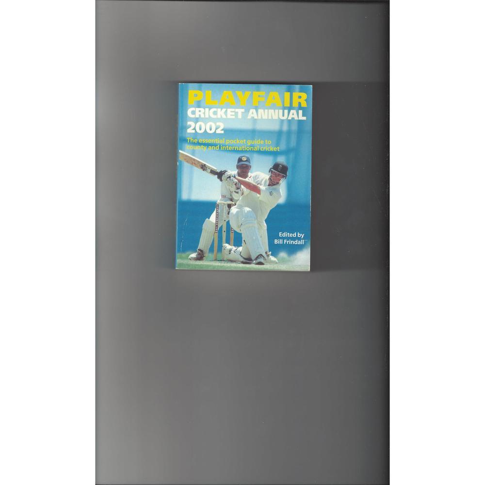 Playfair Cricket Annual 2002