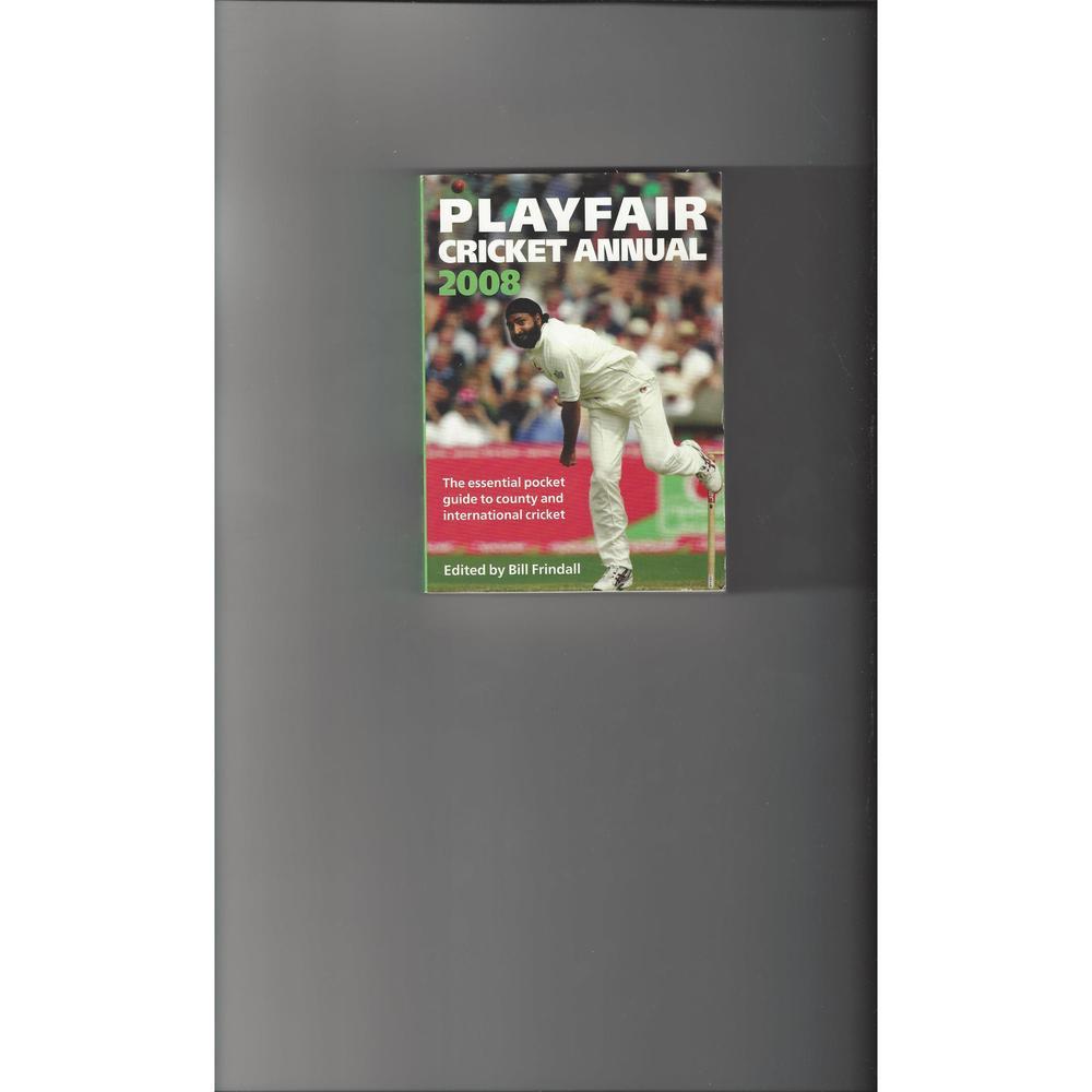 Playfair Cricket Annual 2008
