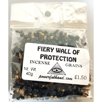 Fiery Wall of Protection Incense Grains