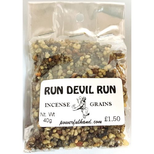 Run Devil Run Incense Grains