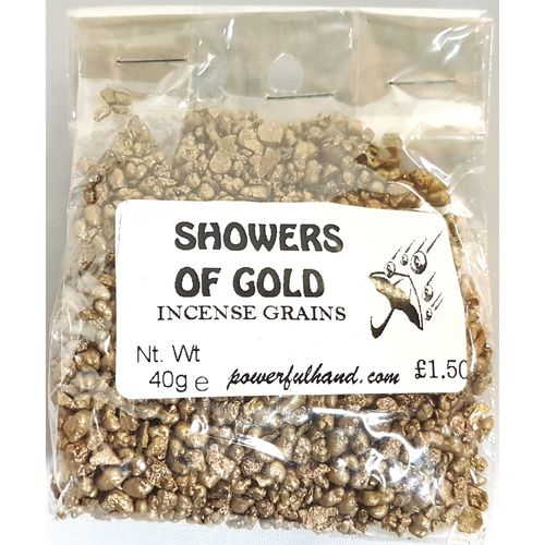 Showers of Gold Incense Grains