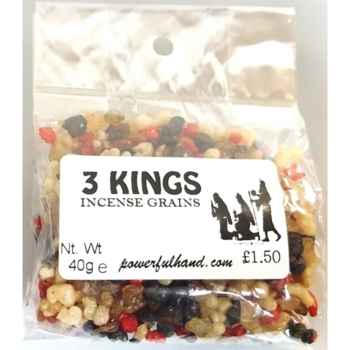 Three Kings Incense Grains