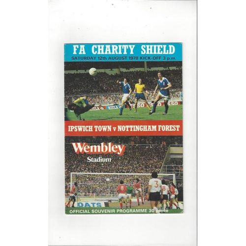 Charity Shield Finals