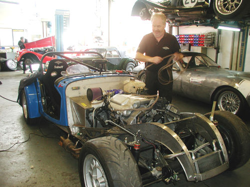 Roadster Lightweight Rebuild
