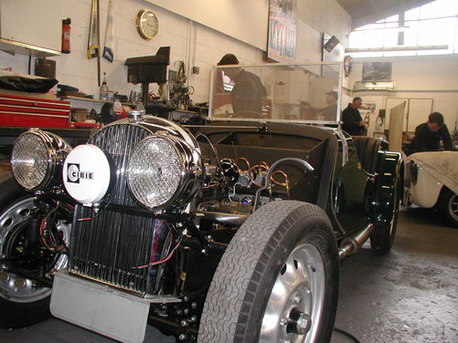 Morgan 4-4 Series 1 Le Mans Replica