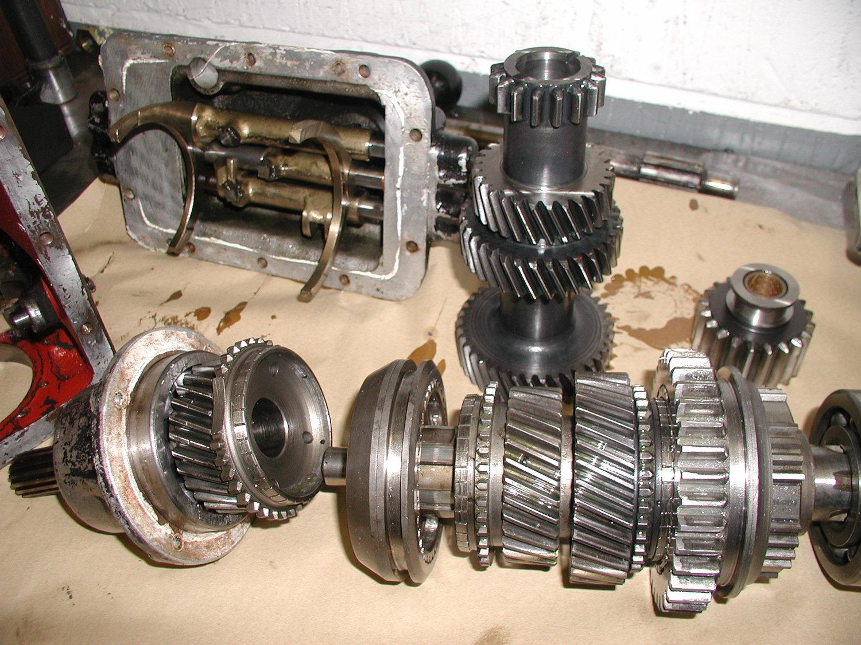 Morgan Transmission: Morgan Gearbox and Salisbury axle rebuild