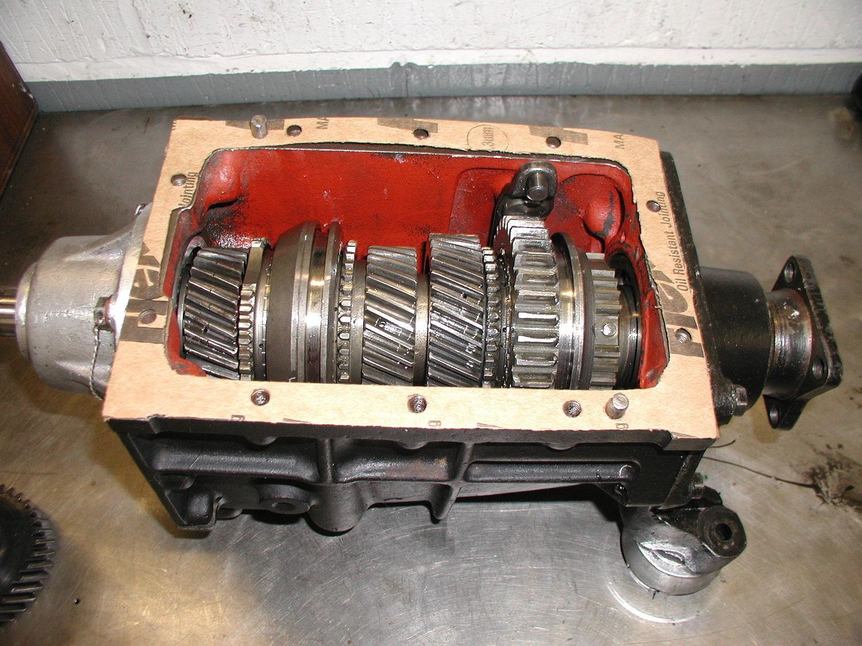Salisbury Rear Axle : Morgan transmission gearbox and salisbury axle