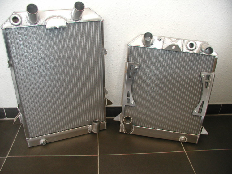 Radiators and Fuel Tanks