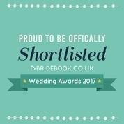 Shortlisted Bridebook Awards 2017