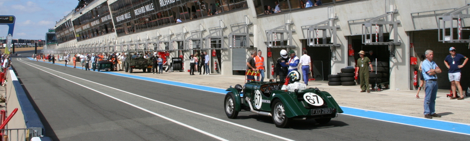 Morgan Racing at Techniques: Support at Classic Le Mans