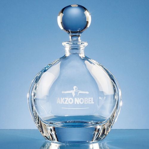 Crystalite Round Decanter (0.8ltr)