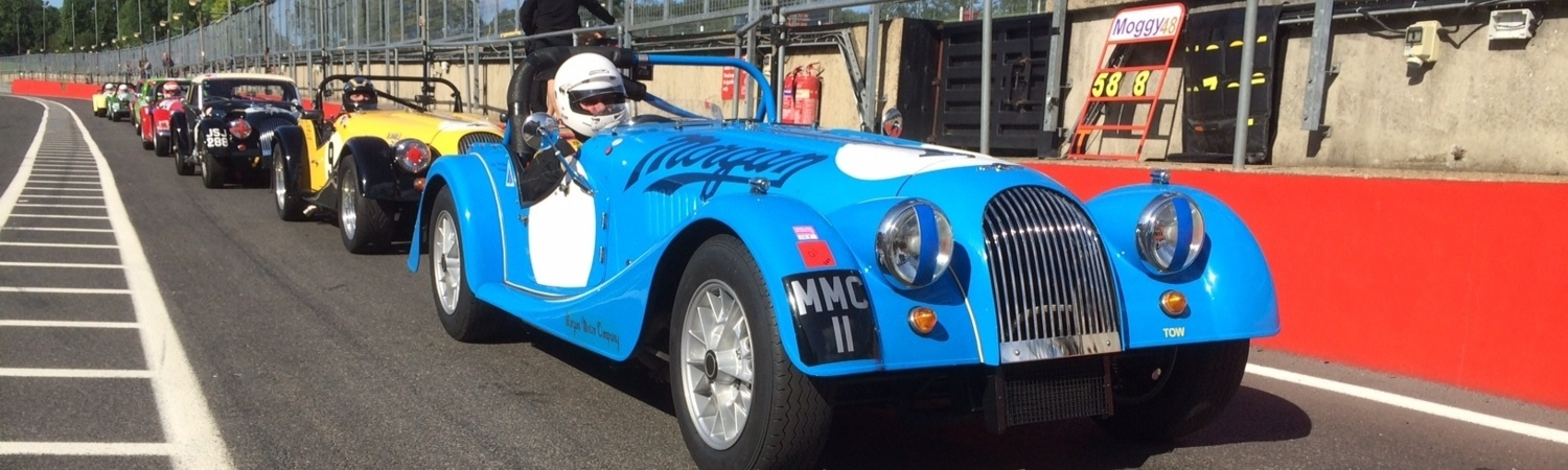 Morgan Racing at Techniques: Morgan Race Support
