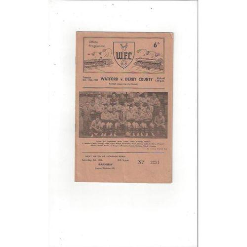 Walsall Home Football Programmes