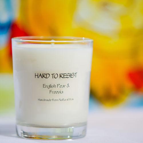 English Pear & Freesia Tumbler Candle