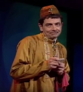 Hilarious!  Rowan Atkinson Live - Drunks In An Indian Restaurant