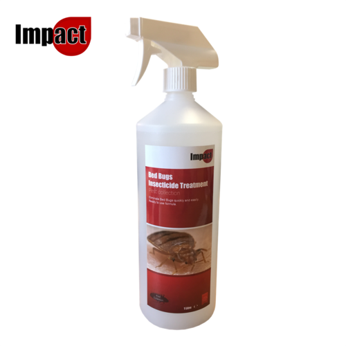 Impact Bed Bugs Insecticide Treatment