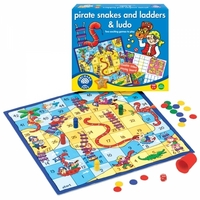 Orchard Toys Pirate Snakes And Ladders Game