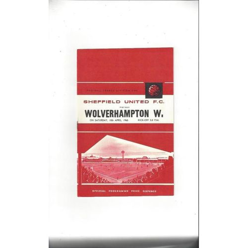 Sheffield United v Wolves 1964/65