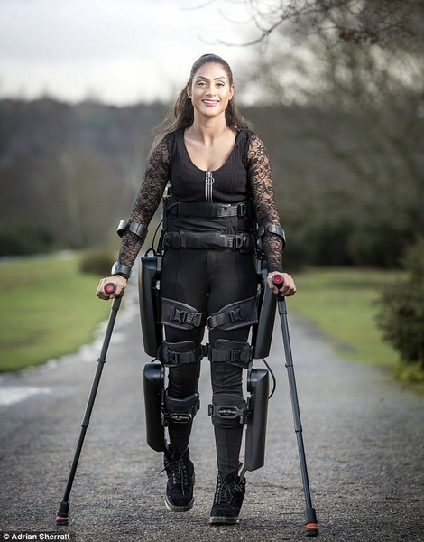 Study Abroad Team Member Walks Again