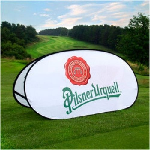 Pop Up Golf Banners