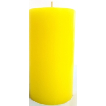 3x6 Yellow Pillar Candle