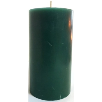 3x6 Green Pillar Candle