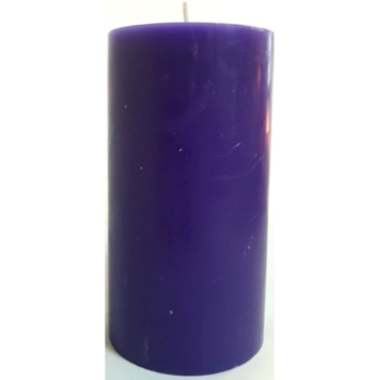 3x6 Purple Pillar Candle