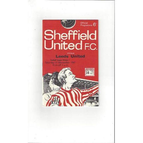 Leeds United Away Football Programmes