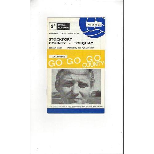 Torquay United Football Programmes
