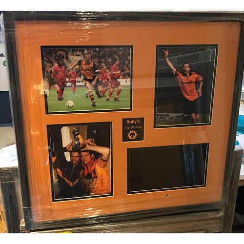 Steve Bull's Top 10 Goals - Digital Frame