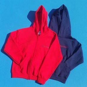 ZIPPED HOODED TOP - CHILD