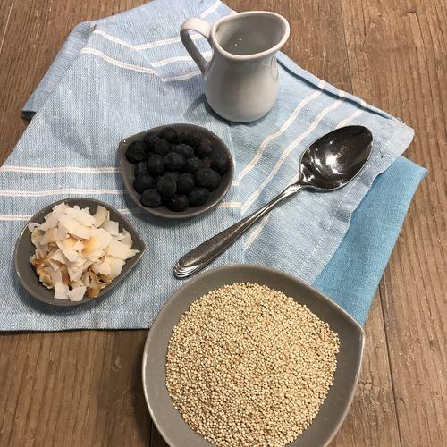 Coconut Quinoa & Blueberries