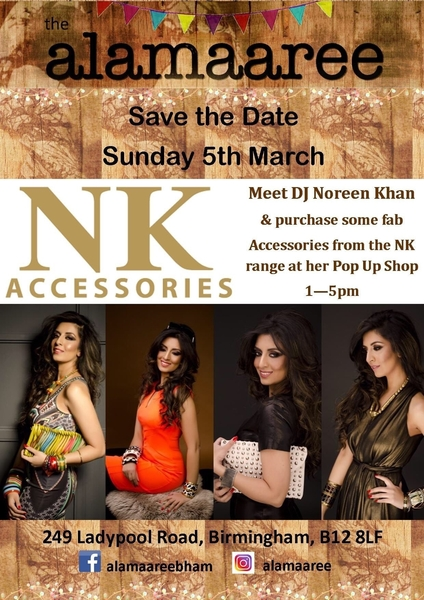 Event: Noreen Khan Brings Pop Up Shop