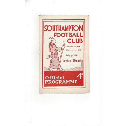 Southampton v Leyton Orient 1960/61