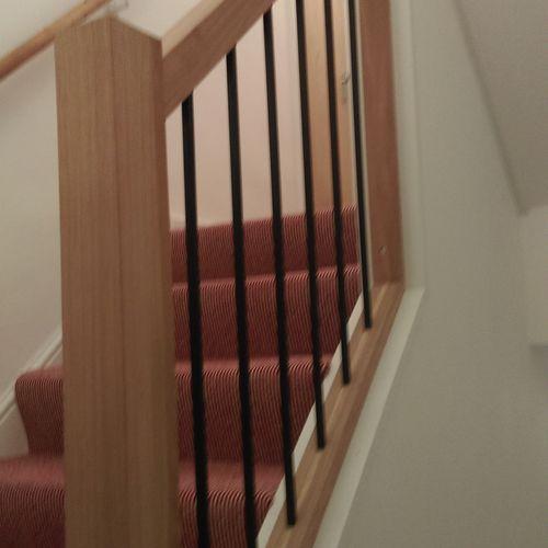 Refurbishment of terrace house of flats