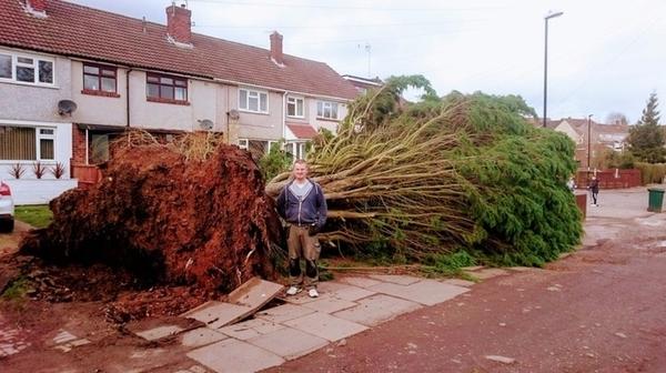 Major clean up after Storm Doris wreaks havoc across the UK