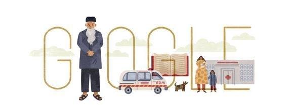 Google Honours Abdul Sattar Edhi