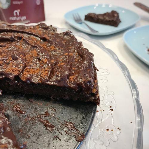 Cocoa Nib Torte