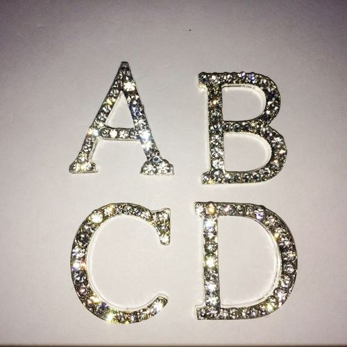 Diamante Letters (sold separately)