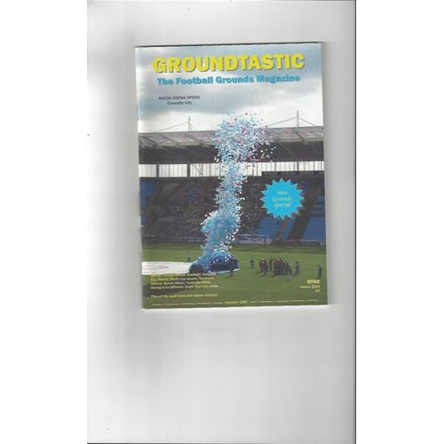 Groundtastic Football Grounds Magazine No 43 2005