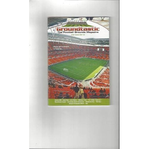 Groundtastic Football Grounds Magazine No 49 2007
